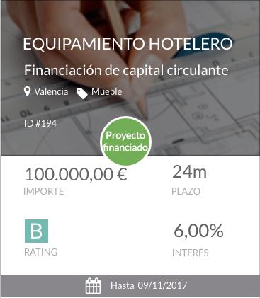 Equipamiento hotelero
