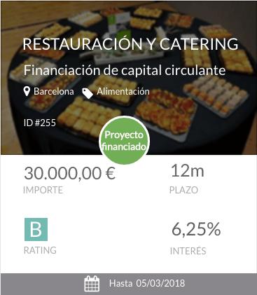 Proyecto de restauración y catering