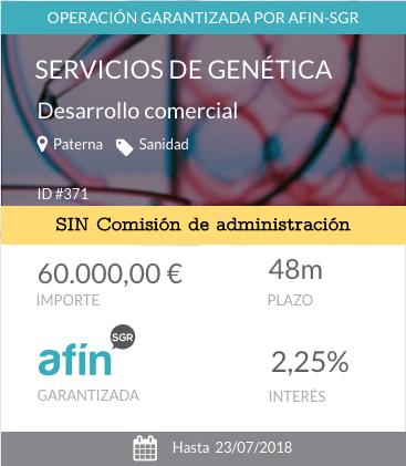 Servicios de genética