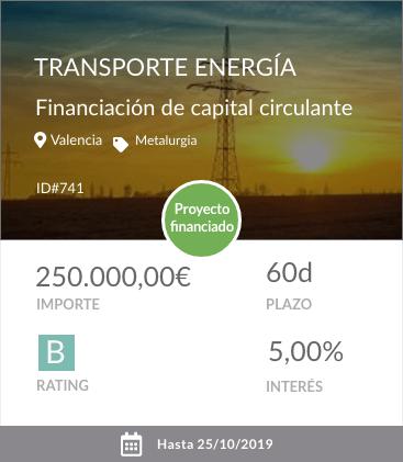 Transporte energía