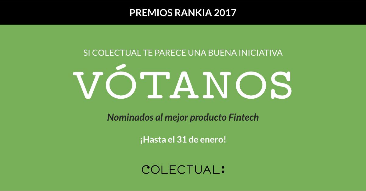 Colectual - Premios Rankia 2017