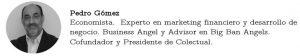 Firma Pedro Gómez